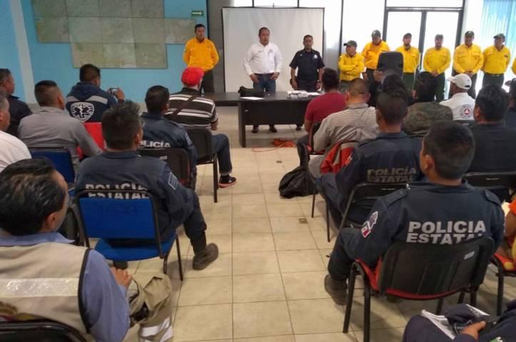 Desarrolla CEPC curso de capacitación en combate de incendios