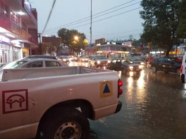 Activa CEPC operativo de atención y apoyo a la ciudadanía por lluvia