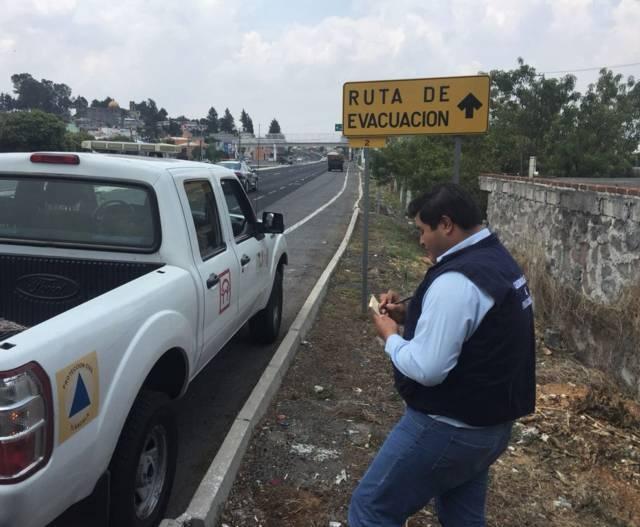 Refuerza CEPC medidas preventivas por actividad del volcán Popocatépetl