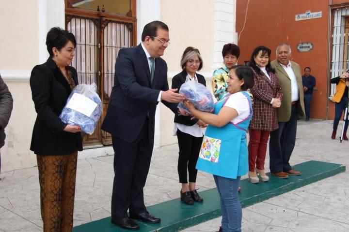 Sánchez Jasso encabezo conmemoración del 21 aniversario del natalicio de Juárez