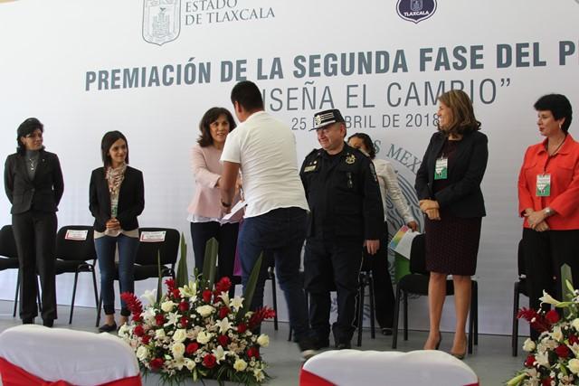 Obtiene Tlaxcala premio del programa Diseña el cambio nacional, a través del CIIMAET