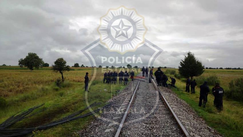 La CES frustra robo a tren en Yauhquemehcan