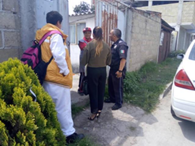 La CES auxilia a un menor extraviado en Tlaxcala; se quedó dormido