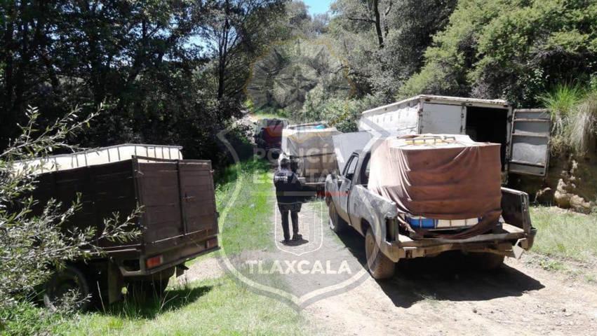 Otra acción más contra el huachicol en la frontera Sur De Tlaxcala por parte de la CES