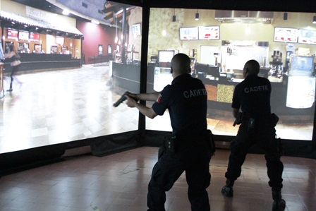Cumplen centro de capacitación de policías con 10 rubros de equipamiento