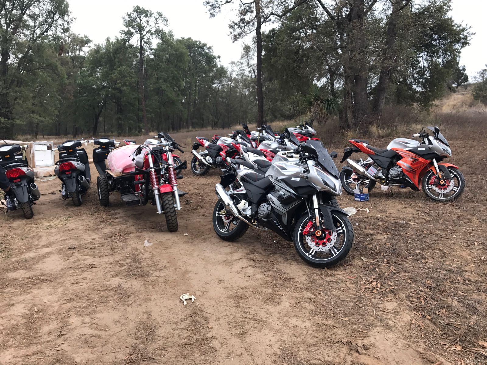 Recupera CES dos tractocamiones y 16 motos robadas