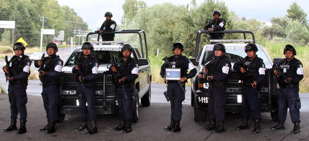 Apoyó CES en labores de seguridad en Puebla luego del sismo