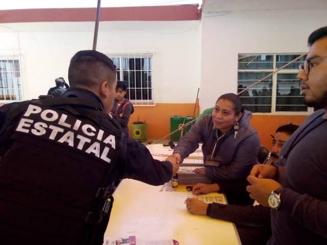Concluye en Tlaxcala la Jornada Electoral con calma: SEGOB
