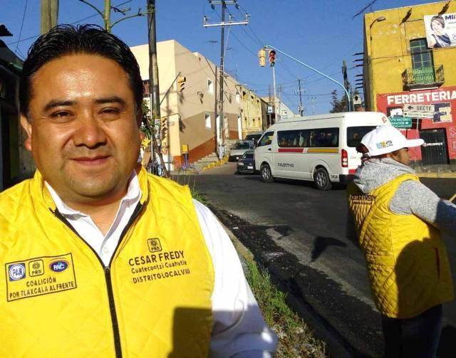 Arranca César Fredy con respaldo de la ciudadanía