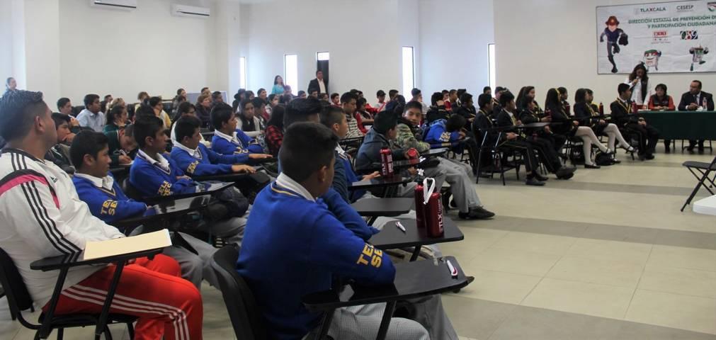 Beneficia Cesesp a más de cinco mil 400 alumnos con jornadas de prevención del delito