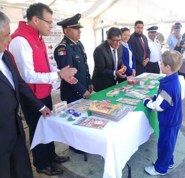 Mantiene CESESP campaña Canje De Armas De Fuego 2019 en Tlaltelulco y Teolocholco