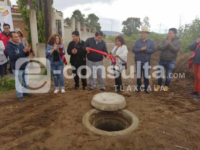 Este drenaje sanitario evita que se inunden 400 familias de Villa Flores: alcalde