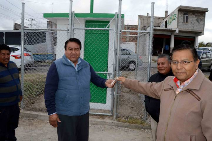 Inaugura CGE casetas de medición de descargas de aguas residuales en Tlaltelulco
