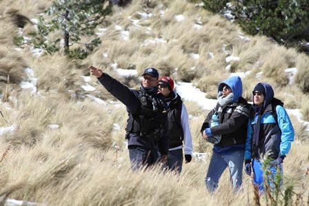 Mantienen autoridades vigilancia en el parque La Malinche