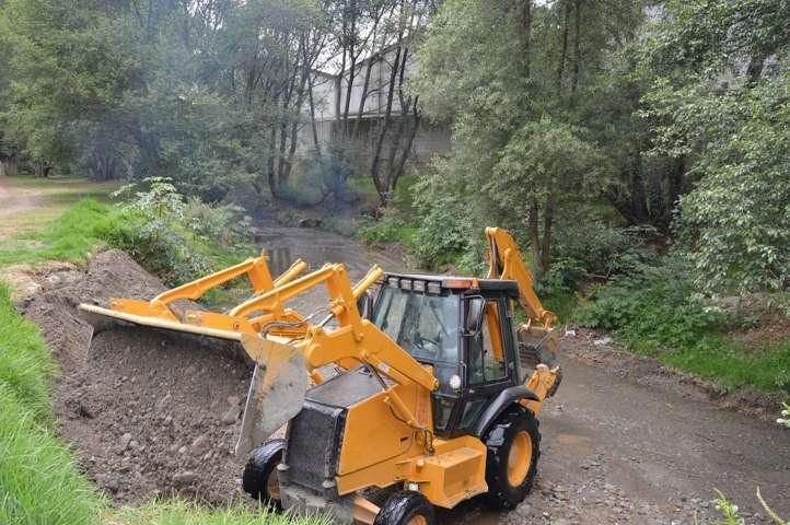 Realizó CGE saneamiento del Río Matalhualpan