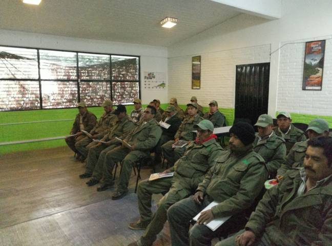 Profesionaliza CGE a personal del Parque Nacional Malinche