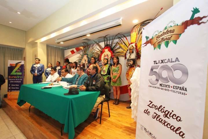 Realizará CGE actividades culturales y artísticas en el Zoológico de Tlaxcala