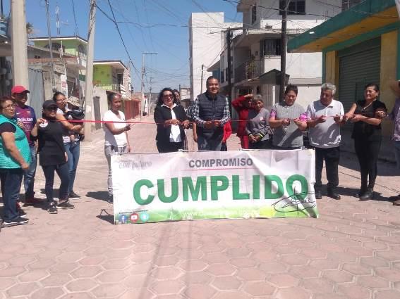 Impulsa Héctor Domínguez progreso en Tlapacoya y Chiautempan