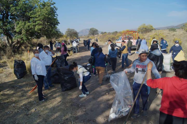Con la suma de voluntades recolectamos 15 toneladas de basura: alcalde