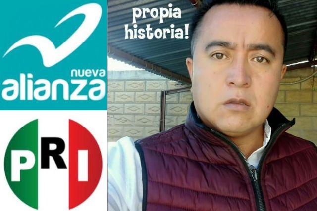 Político Chapulín de Tlaxco amaga con irse de Morena, no le dieron la candidatura