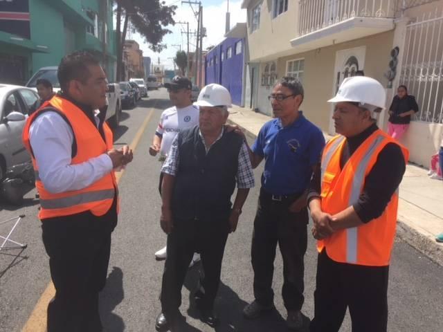 Inaugura Héctor Domínguez Rugerio Obras públicas en El Grullo y Privada Allende
