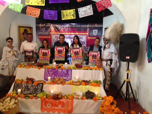 Presentan Festival entre Vivos y Muertos en Chiautempan
