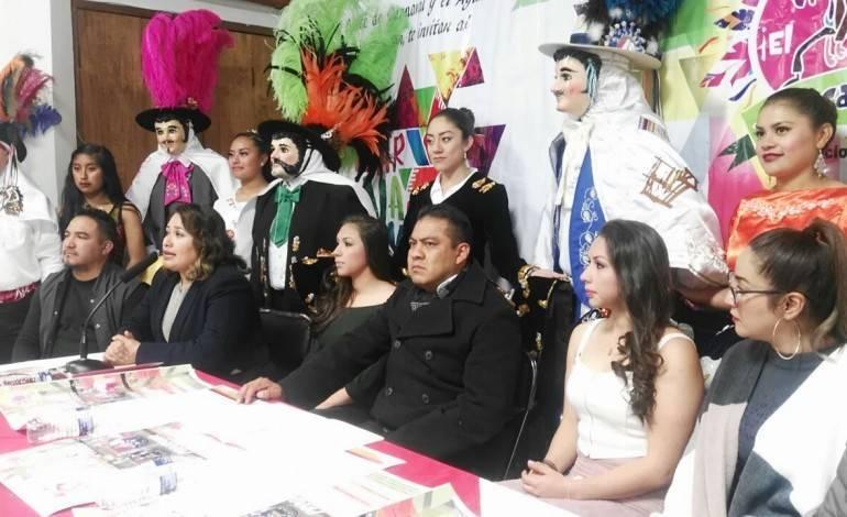 Presenta Domínguez Rugerio Carnaval Chiautempan 2018