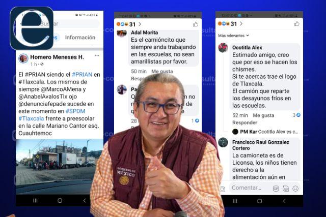 Tunden en redes sociales a coordinador de Lorena Cuéllar por amarilista y chismoso