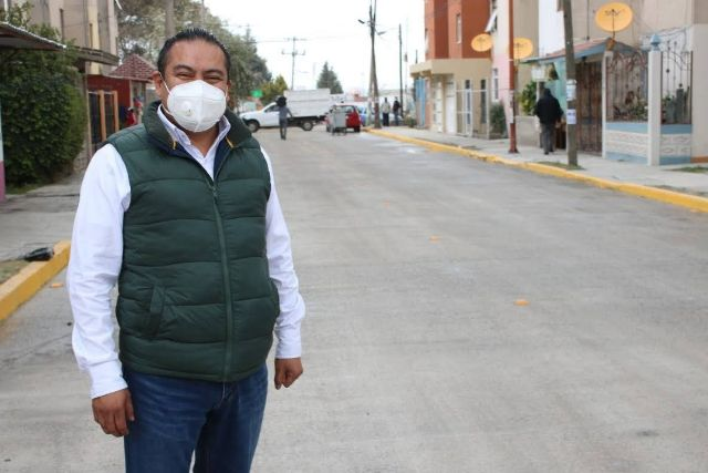 Le cumplimos a los chiuatempenses; Héctor Domínguez
