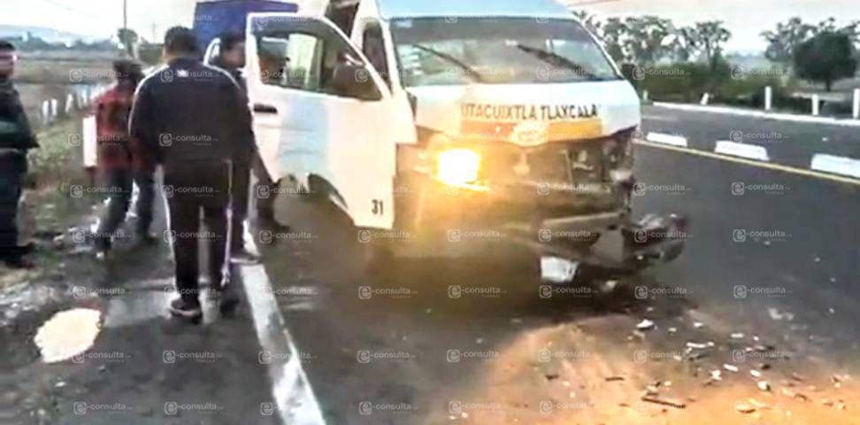 Choca colectiva con policías municipales de Ixtacuixtla