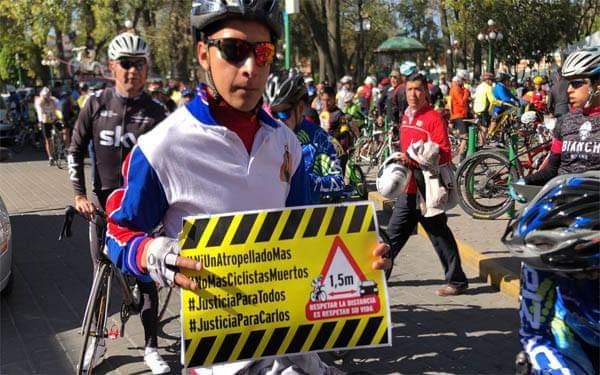 Diputada María Félix apoyaría iniciativa a favor de ciclistas