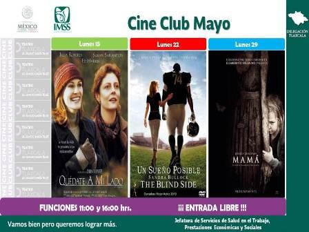 Cine Club del IMSS da a conocer su próxima cartelera