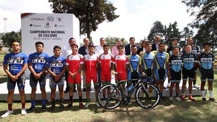 Campeonato nacional de ciclismo se realizará en Tlaxcala