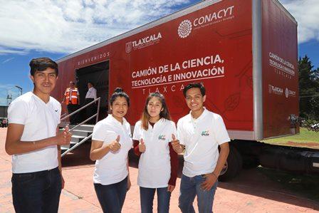 Camión itinerante de la ciencia visitará escuelas en junio y julio