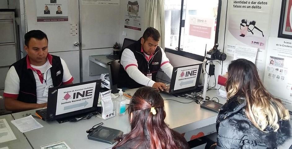 Recibió INE Tlaxcala más de 14 mil solicitudes de reimpresión de credenciales