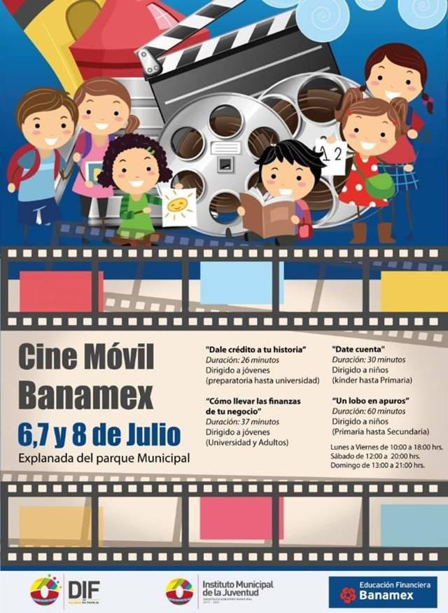 Este Móvil cine fomenta una cultura financiera en niños, jóvenes  y adultos: TOA