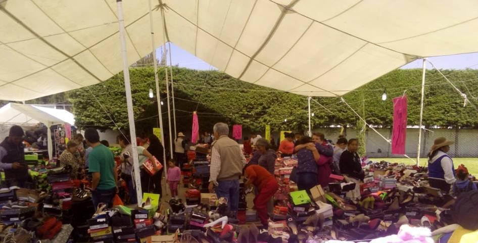 El Circo del Calzado llego a Huamantla apoyar la economía familiar
