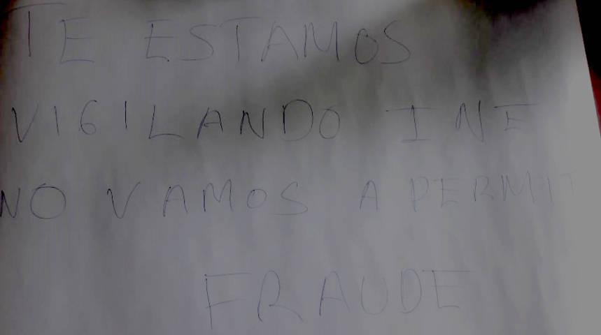 Surge clamor ciudadano contra posible fraude en próximos comicios
