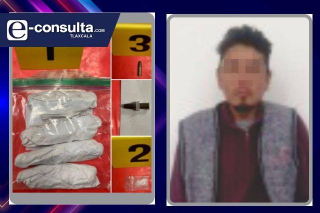 La SSC detiene a una persona en posesión de marihuana en Tlaxcala