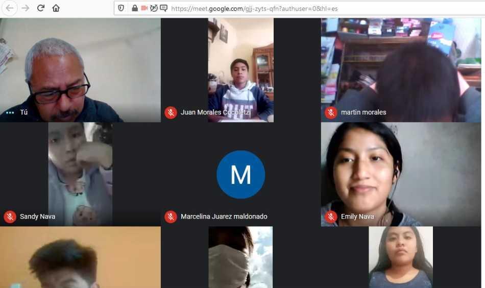 Más del 90 por ciento de estudiantes del COBAT-TBC participan en clases en línea