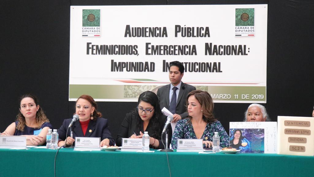 Propone Claudia Pérez nutrir compendio legal para combatir feminicidios