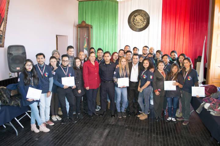 Finalizan 25 jóvenes programa en prevención de la violencia y la delincuencia