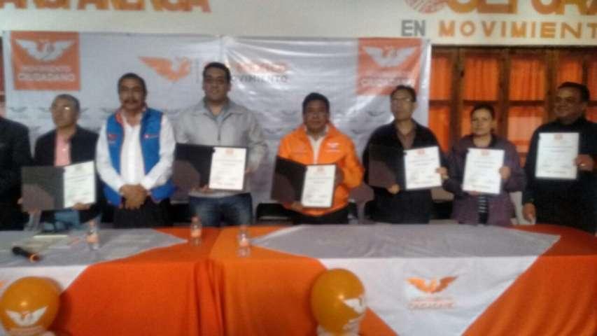 Inicia MC de Tlaxcala trabajo político Rumbo al 2018