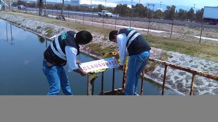 Clausura Profepa planta de aguas residuales de empresas
