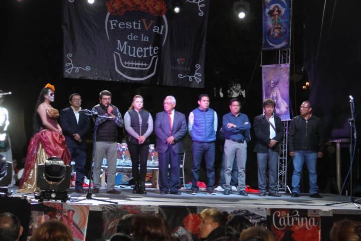 Con éxito clausuran el V Festival de la Muerte en la capital