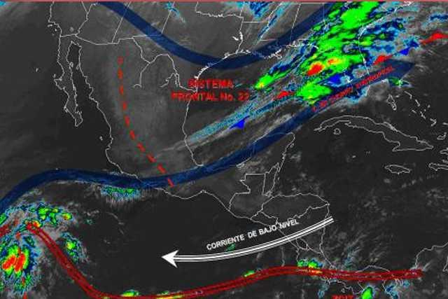 Pronóstico del tiempo en México para viernes 13 de diciembre del 2019