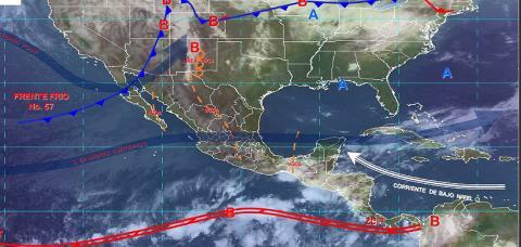 Pronóstico del tiempo en México para viernes 17 de mayo del 2019