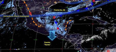 Pronóstico del tiempo en México para martes 2 de abril del 2019