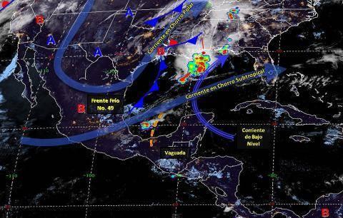 Pronóstico del tiempo en México para lunes 8 de abril del 2019