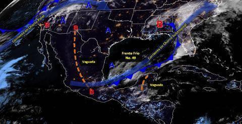 Pronóstico del tiempo en México para martes 9 de abril del 2019